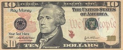 dollar bill template