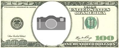 custom money template