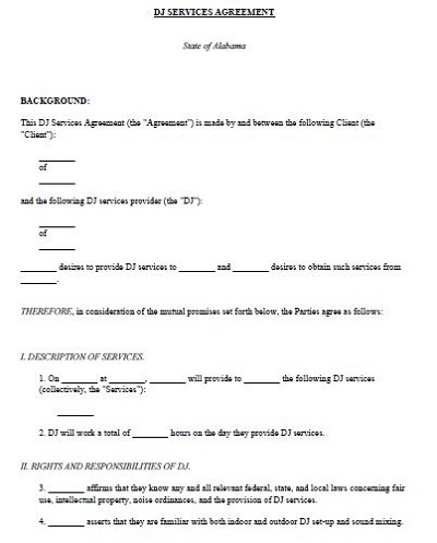 sample contract for services
