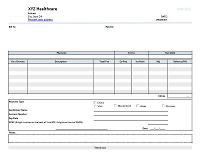 medical bills online