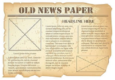Old Newspaper google document