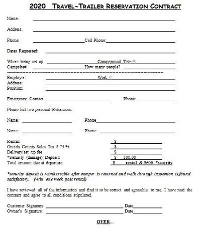 trailer interchange agreement form