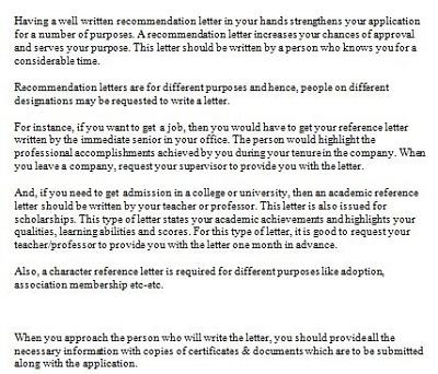 sample adoption reference letter