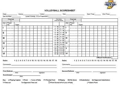 volleyball score sheet pdf