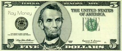 fake money printable