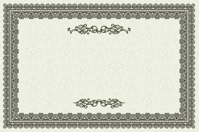 free certificate border