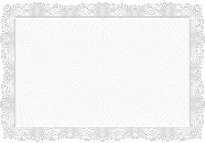 certificate border free
