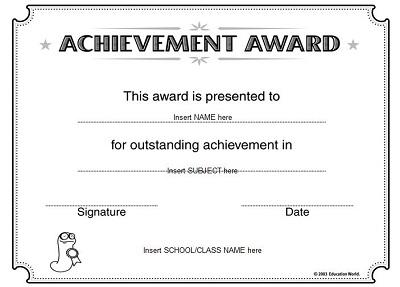 certificate of merit medal