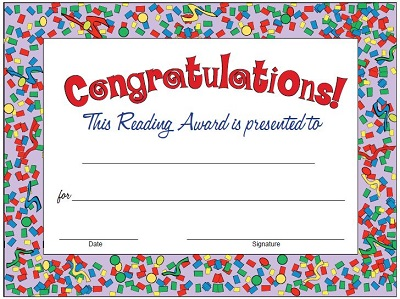 congratulation certificate templates