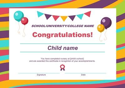 congratulations certificates templates free