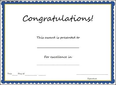 certificates templates