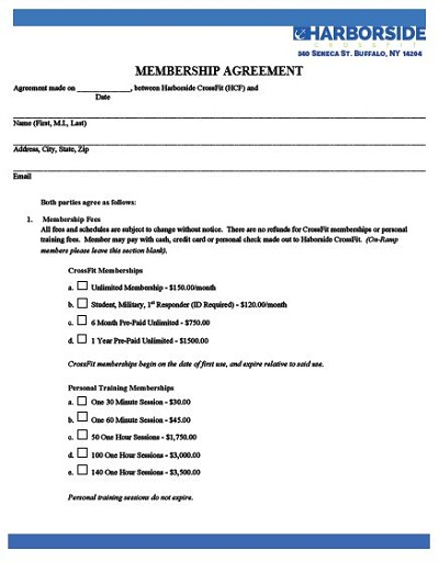 gym membership contract law