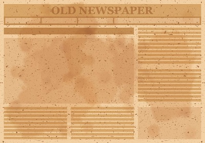 old newsletter template