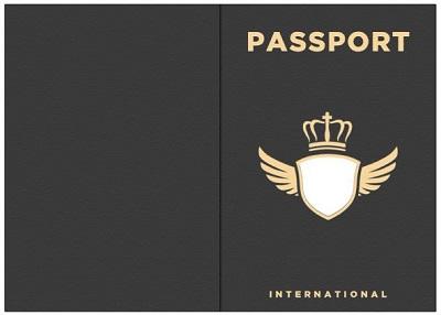 Passport Templates free