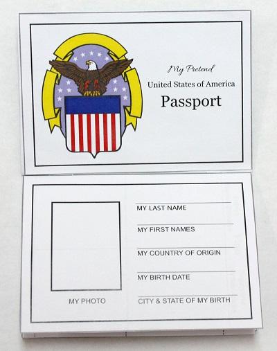 passport layout template