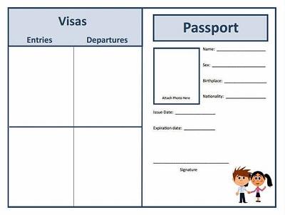 passport project template