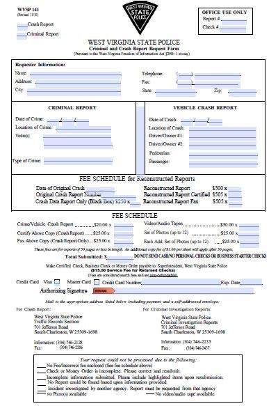 pdf blank police report