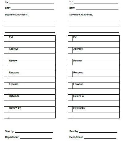 routing slip template microsoft word