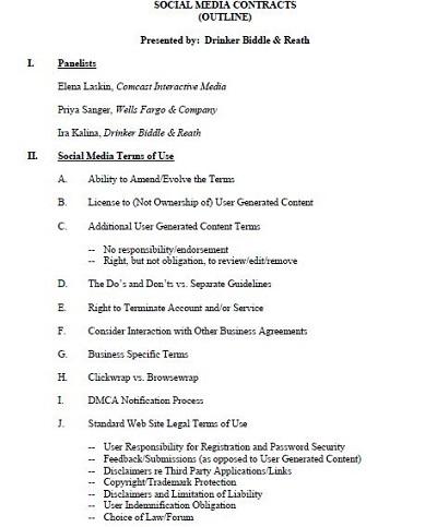 social media marketing contract pdf