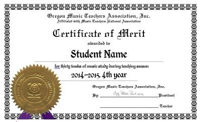 university of georgia certificate of merit